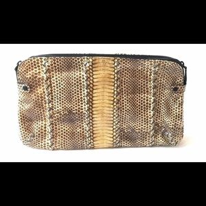 Bottega Veneta Python Clutch Purse